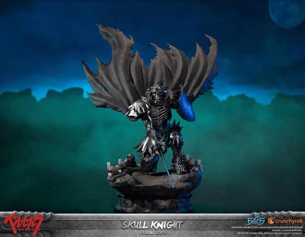 Berserk Skull Knight White Bone Statue