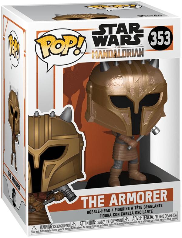 Star Wars The Mandalorian The Armorer Pop!