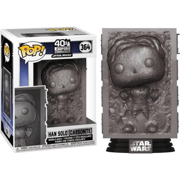 Star Wars 40th Anniversary Empire Strikers Back Han Solo (carbonite) Pop!