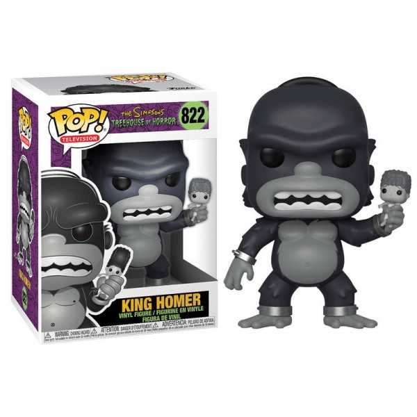 The Simpsons Treehouse Of Horror King Homer Pop!