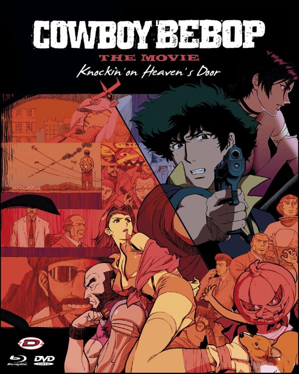 Cowboy Bebop - The Movie - Knockin' On Heaven's Door ( Blu-ray+dvd)