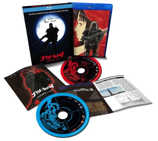 Jin-roh Uomini E Lupi ( 2 Blu-ray )