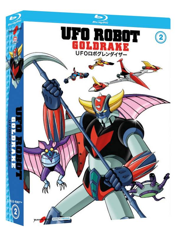 Ufo Robot Goldrake 02 (3 Blu-ray)
