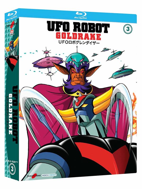 Ufo Robot Goldrake 03 (3 Blu-ray)
