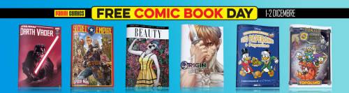 Copertina articolo: Panini Free Comic Book Day 2017