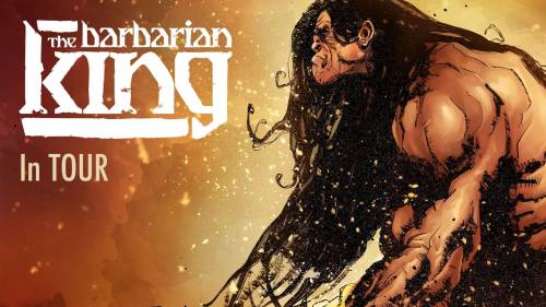 Copertina articolo: The barbarian King in tour